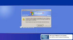 Bahayannya Menggunakan Windows Bajakan