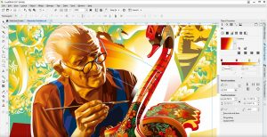 software editing foto coreldraw
