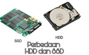 perbedaan hard disk dan solid state drive (hdd dan ssd)