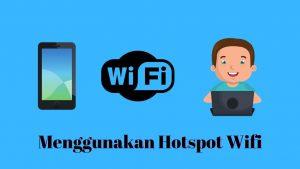 menyambungkan hotspot hp ke laptop menggunakan wifi