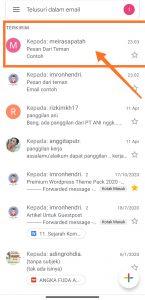 cara mengirim email via smartphone