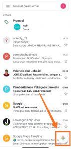 mengirim email dengan hp