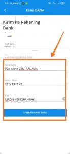 kirim uang dari aplikasi ke bank