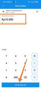 megirimkan uang dari aplikasi dompet digital